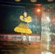 La bar Melody, rochie cusuta de mine