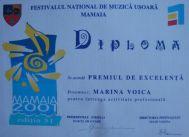 Diploma Marina Voica 10